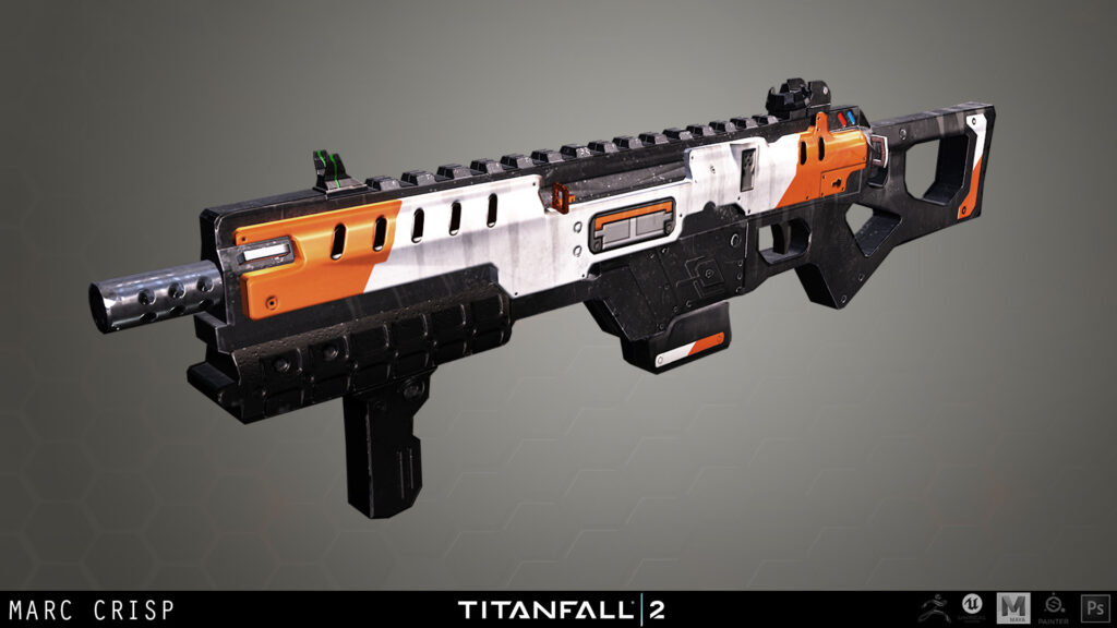 CAR SMG fra Titanfall 2