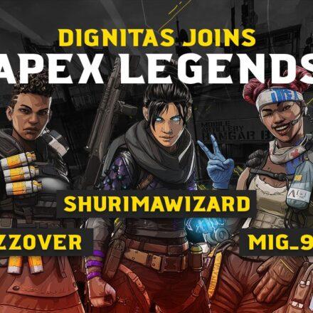 Dignitas afslører deres Apex Legends-team