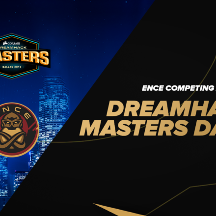 ENCE accepterer invitation til DreamHack Masters Dallas