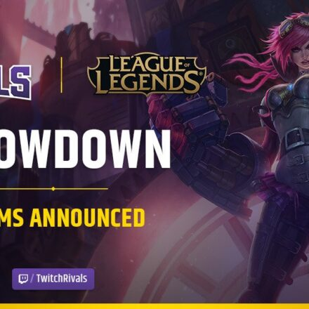 National League of Legends Twitch Rivals-hold er offentliggjort